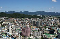 City view of Icheon, Korea