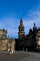 GERMANY, DRESDEN, WEST WING OF THE ROYAL PALACE