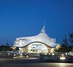 Centre Pompidou_Metz, Metz, France, Shigeru Ban and Jean De Gastines, CENTRE POMPIDOU_METZ SHIGERU BAN + JEAN DE GASTINES METZ FRANCE 2010. EXTERIOR F...
