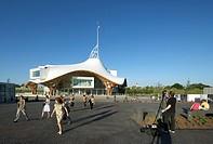 Centre Pompidou_Metz, Metz, France, Shigeru Ban and Jean De Gastines, CENTRE POMPIDOU_METZ SHIGERU BAN + JEAN DE GASTINES METZ FRANCE 2010. EXTERIOR S...