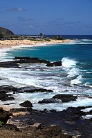 Sandy Beach, Koko Head, Hawaii, U.S.A.