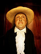 Preserved body of philosopher Jeremy Bentham, University College, London