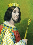 DAGOBERT III 699-715  King merovingian of France and Austrasia