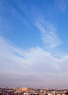 Cirrocumulus and cirrostratus clouds