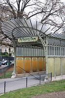Entrance of Metro