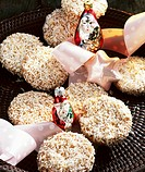 Coconut_coated gingerbread