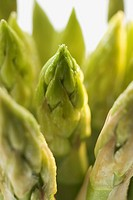 Green asparagus close_up