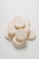 Several effervescent tablets