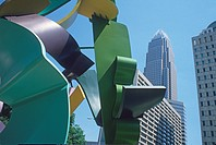 The Garden sculpture downtown Charlotte North Carolina