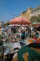 Austria, Vienna, Flea Market at Naschmarkt
