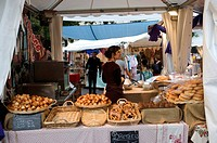 Paris, France, Food Market of Boulevard Lenoir