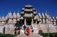 Inde, Rajasthan, Ranakpur, Adinath temple
