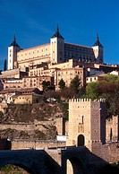 Spain, Castilla_La Mancha, Toledo, The Alcazar