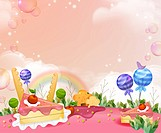 Cakes and Chocolate with flora (thumbnail)