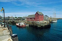 USA, Massachusetts, Rockport