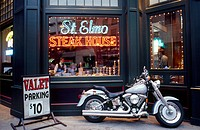 USA, Indiana, Indianapolis, St.Elmo steak house
