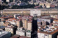 Italy, Campania, Naples, aerial view