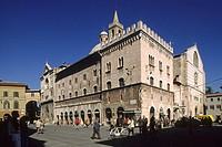 Umbria, Foligno, Piazza della Repubblica