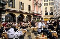 Switzerland, Canton Tessin, Lugano,