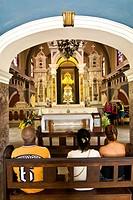 Cuba, El Cobre Sanctuary interior