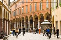 Italy, Emilia Romagna, Modena, Via Emilia, arcades