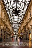 Italy, Liguria, Genoa, the Galleria Mazzin