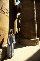 Africa, Egypt, Luxor, Karnak temple
