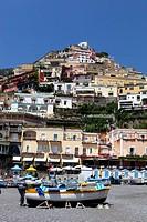 Italy, Campania, Amalfi Coast, Positano