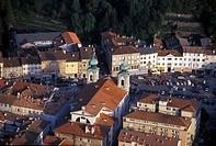 Italy, Friuli Venezia Giulia, Gorizia. Aerial view