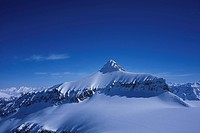 Snow, blue, mountains, scenery, Switzerland, Europe, Vaud, scenery, Diablerets, Glacier 3000, winter,