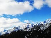 Majestic Meili Snow Mountain, Shangri_la, DiQing Tibetan Autonomous Prefecture, Yunnan Province, China