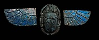 Egyptian amulet Scarab beetle Egypt was the scarab, symbolically as sacred to the Egyptians