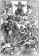 Heaven and Hell by Durer. Albrecht Dürer 1471 – 1528 German painter, printmaker and theorist from Nuremberg.