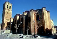 St Peter's collegiate church, Soria, Castilla-Leon, Spain