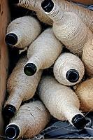 rope-lined bottles.
