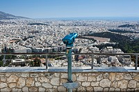 Telescope on Mount Lycabettus