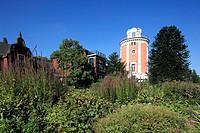 Germany, Wuppertal, Wupper, Bergisches Land, North Rhine-Westphalia, NRW, D-Wuppertal-Elberfeld, Hardt, Hardt hill, park, botanical garden, Villa Elle...