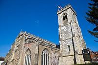 Sarum St Thomas and ST Edmund, Church of St Thomas Becket, The Maltings, Salisbury, Wiltshire, England, UK.