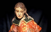 Raphael, Vasco da Gama´s figurehead. This painted wooden statue of Saint Raphael an archangel in the Christian tradition was carried on the Sao Rafael...