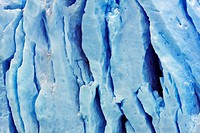 Crevices in Moreno Glacier, Argentina