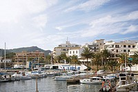 Marina on Mediterranean coast (thumbnail)