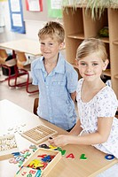 Children in classroom (thumbnail)