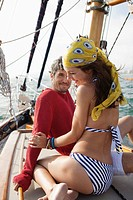 Couple on boat trip (thumbnail)