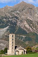 Sant Climent de Taüll, Taüll, Vall de Boí, Lleida, Spain