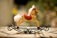 rocking horses, toys, car,ved