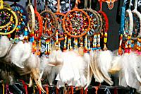 Dreamcatchers for sale  Indian crafts  Mollerussa Lleida, Catalonia, Spain