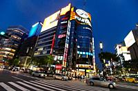 Ginza, Shopping area, Tokyo, Japan.