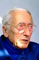 The late underwater explorer Jacques Cousteau
