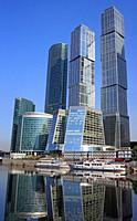 Moscow International Business Center Moscow-City, Moscow, Russia