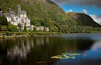 Kylemore Abbey in Conemara region, Ireland